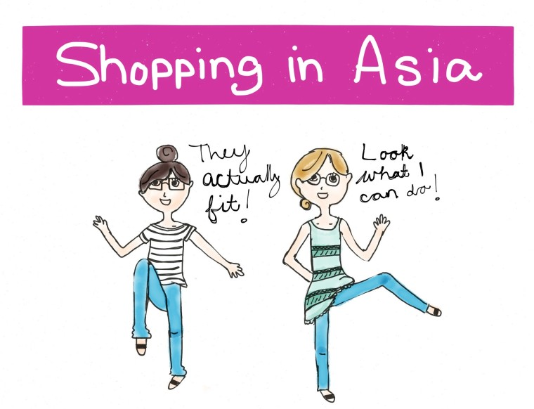 Shopping in Asia
